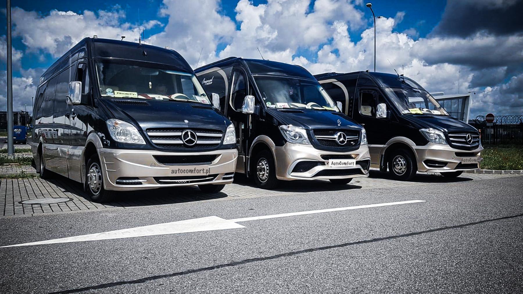 flota luksusowych Pojazdow w trójmieście