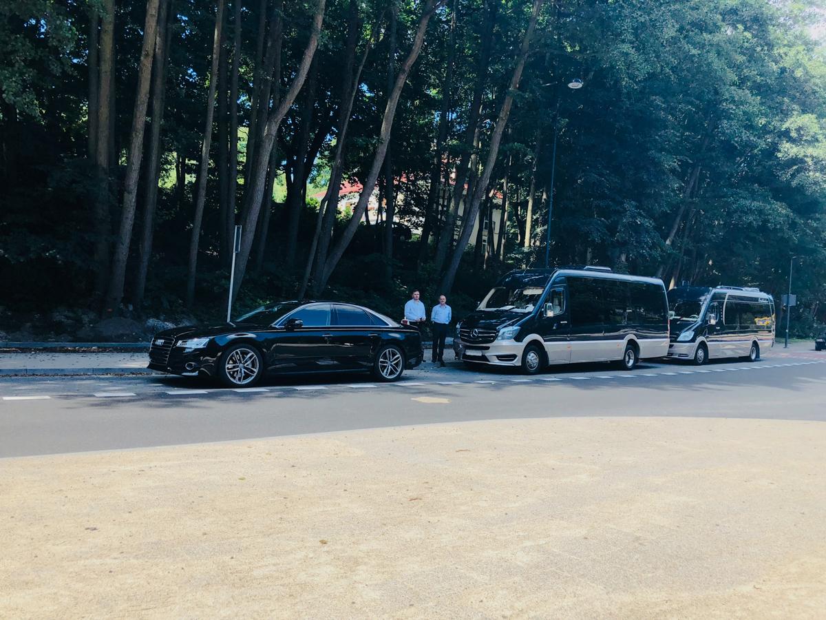 luksusowy transport w Sopocie